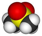 Das Strukturmodell von MSM (Methyl-Sulfonyl-Methan)